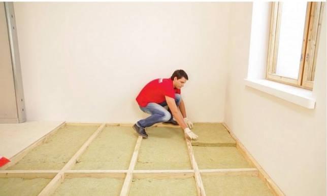 Утепление пола под линолеум на бетонный пол: выбор инструмента и вида утеплителя