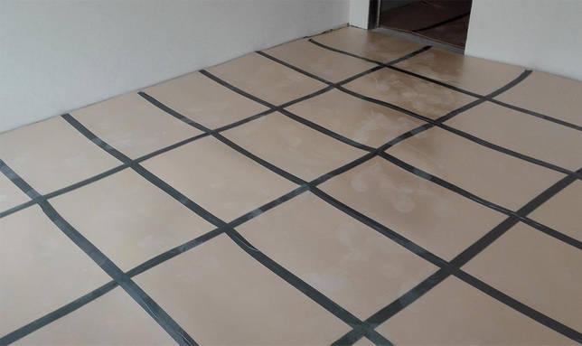 листовая подложка на бетонный пол
