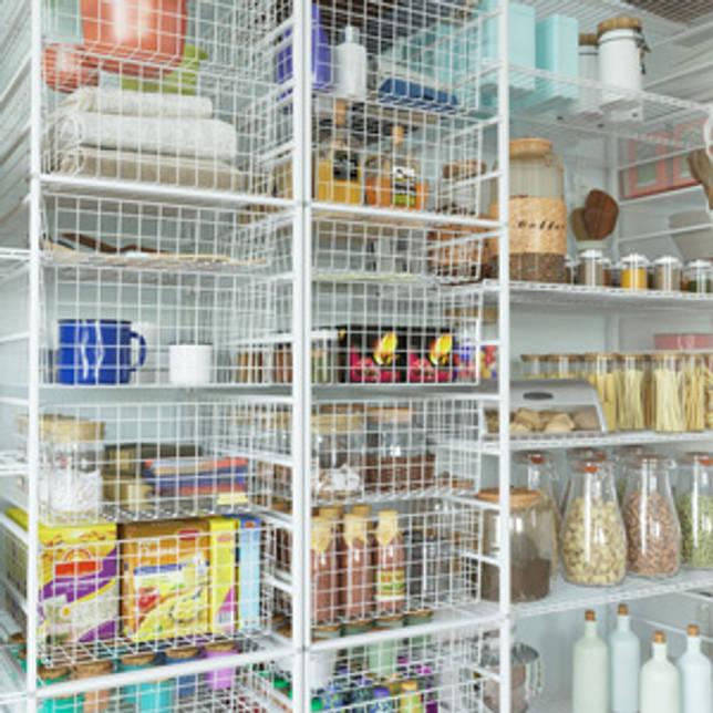 Продукты на кухне