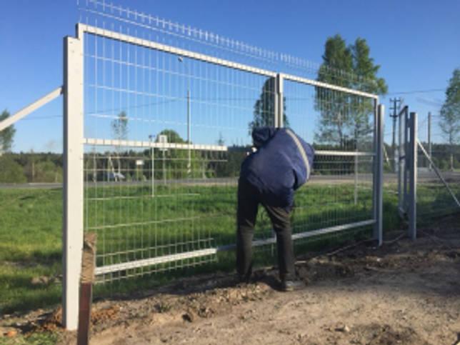 Сварной забор 3D: преимущества и пошаговая инструкция по установке