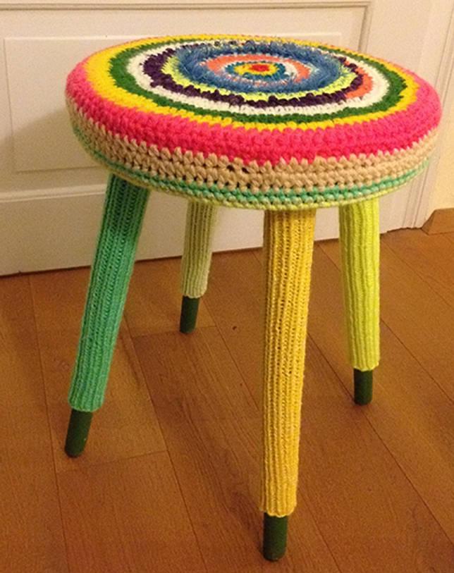 Вязание крючком накидки на стулья и табурет: сидушки на табурет и чехлы на стулья крючком со схемами и описанием