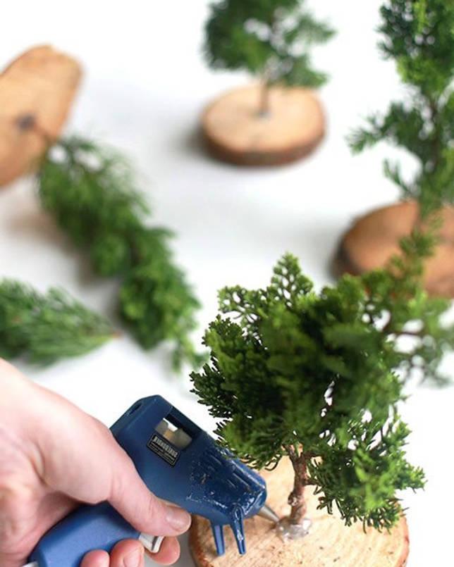 Ёлка из веток своими руками: фото, как сделать елку из веток ели, новогодняя ёлка из еловых веточек