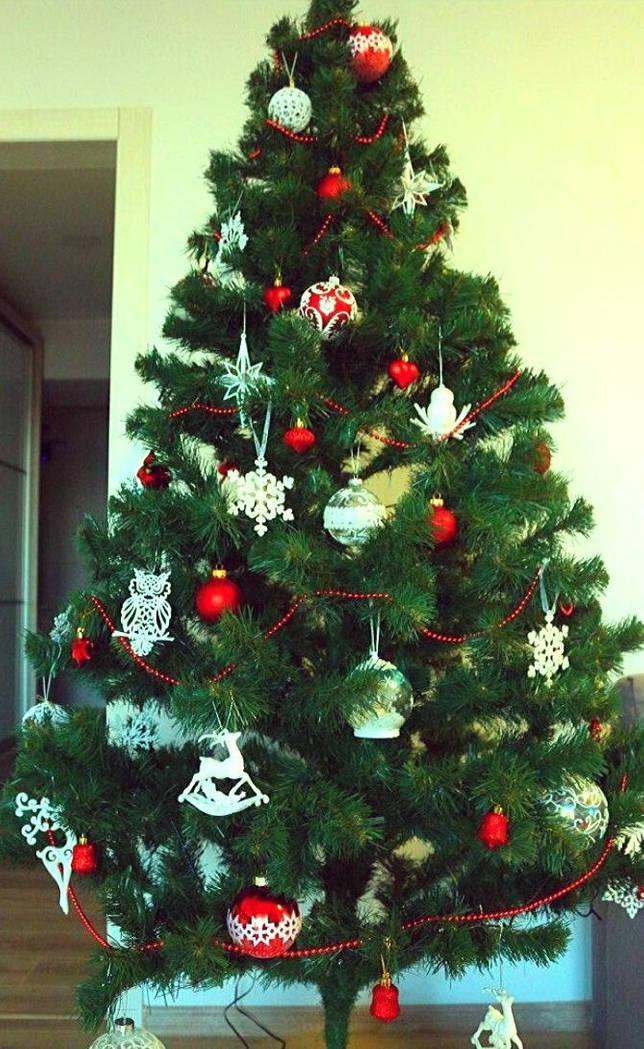 как украсить елку